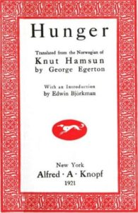 Knut Hamsun Hunger PDF
