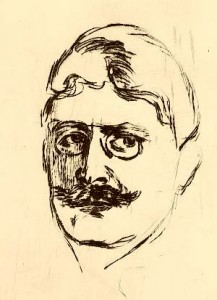Edvard Munch, Radering, 1896