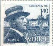 Nobel Stamp 1980 Sverige
